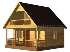 Каркасный дом №24