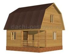 Каркасный дом №25