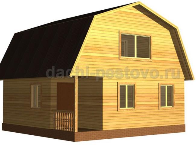 Каркасный дом №27