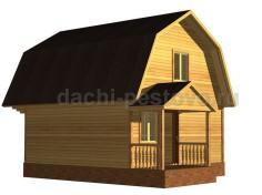 Каркасный дом №30