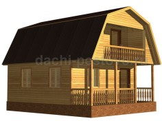 Каркасный дом №31