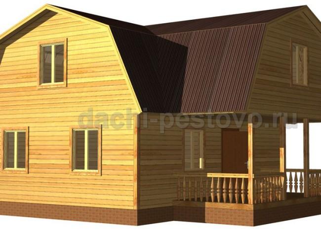 Каркасный дом №32