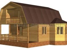 Каркасный дом №33