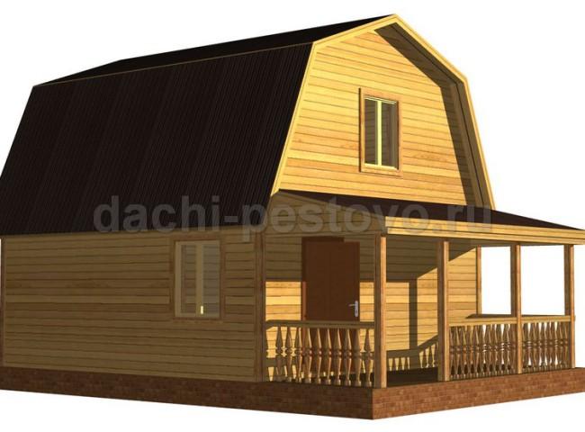 Каркасный дом №34