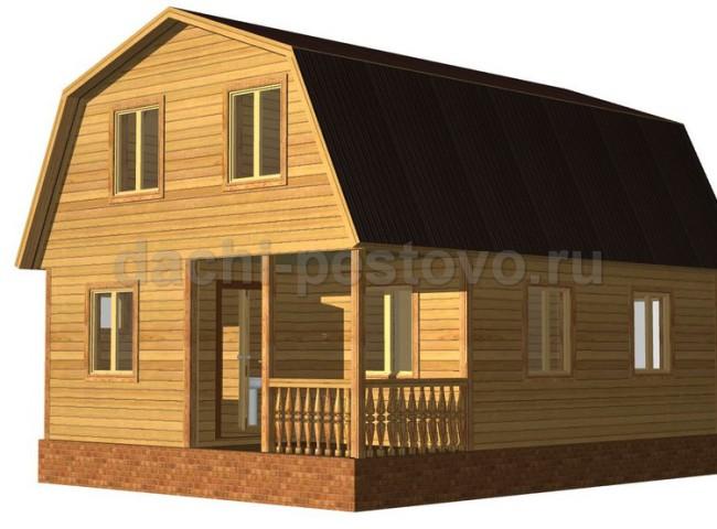 Каркасный дом №35