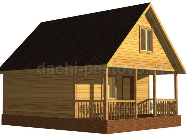 Каркасный дом №36