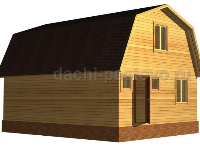Каркасный дом №37