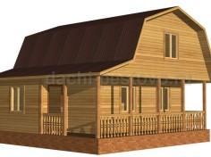 Каркасный дом №38
