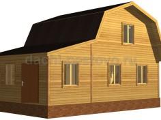 Каркасный дом №39