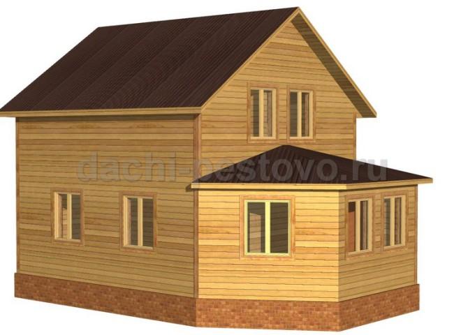 Каркасный дом №40