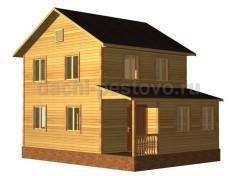 Каркасный дом №41