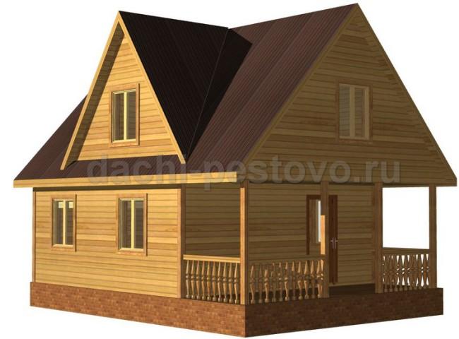 Каркасный дом №42