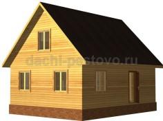 Каркасный дом №44