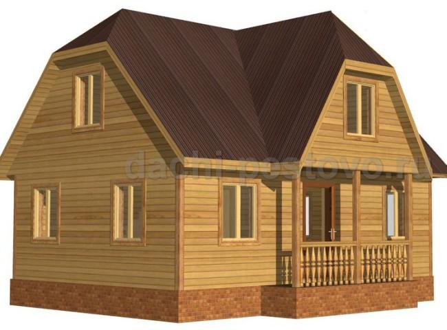 Каркасный дом №45