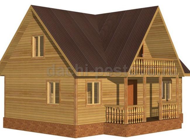 Каркасный дом №46
