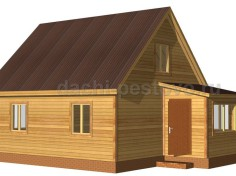 Каркасный дом №47