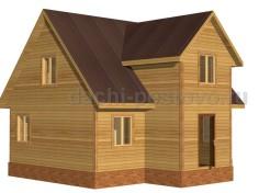 Каркасный дом №49