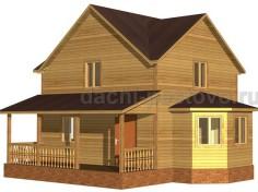 Каркасный дом №48