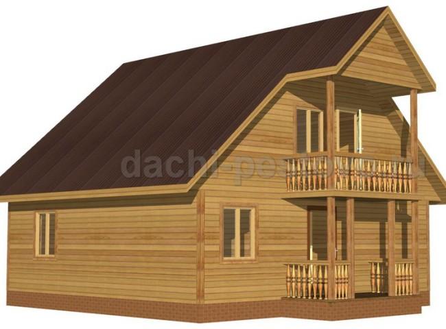 Каркасный дом №50
