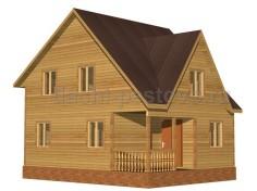 Каркасный дом №52