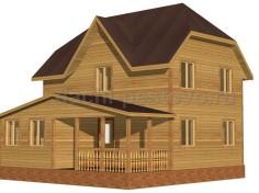 Каркасный дом №53