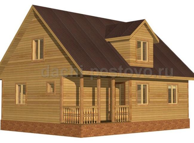 Каркасный дом №56