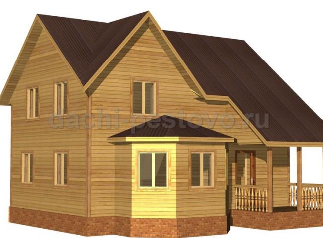 Каркасный дом №57