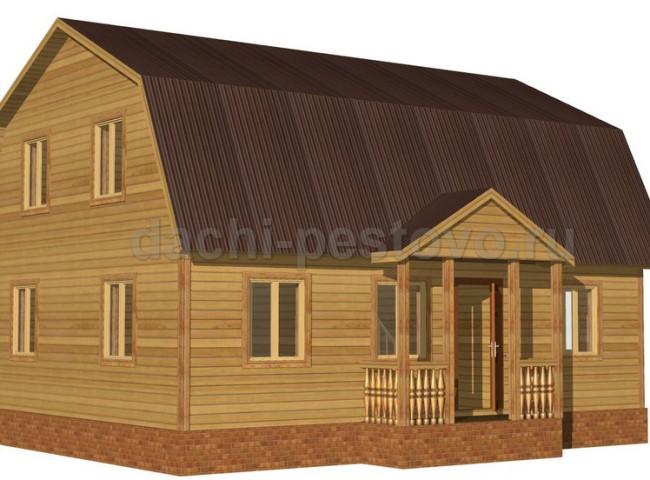 Каркасный дом №58