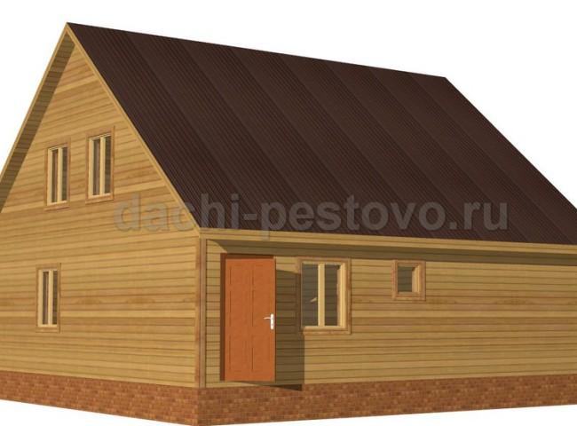 Каркасный дом №59