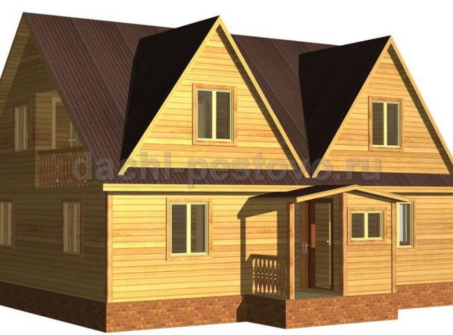 Каркасный дом №61