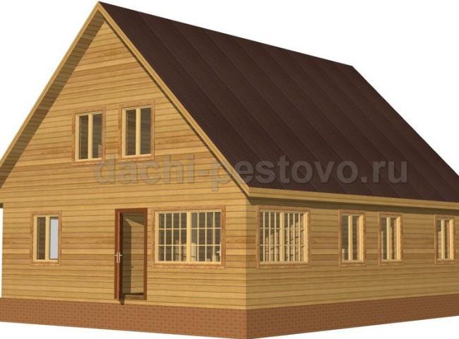 Каркасный дом №62