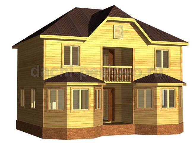 Каркасный дом №63