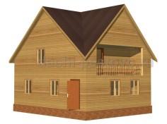 Каркасный дом №64