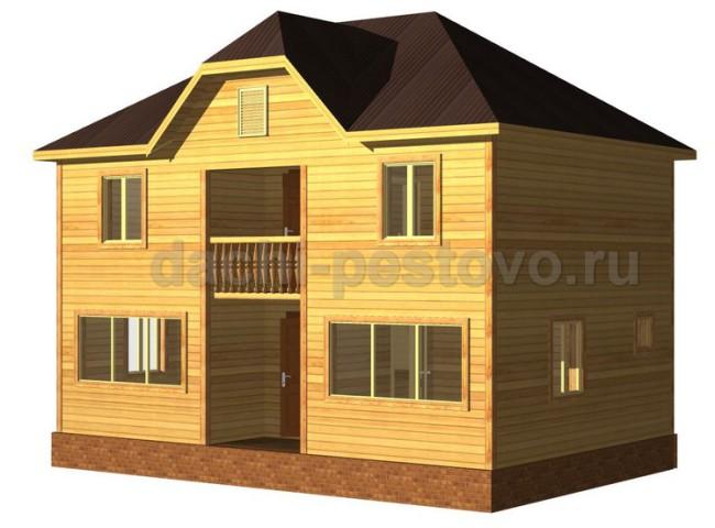 Каркасный дом №65