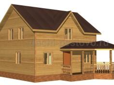 Каркасный дом №66