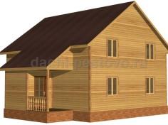 Каркасный дом №67