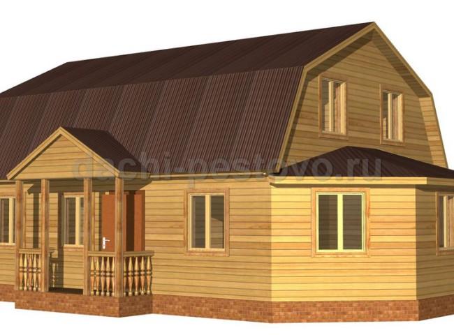 Каркасный дом №68
