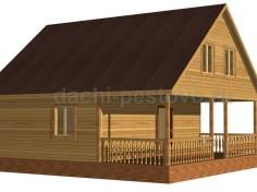 Каркасный дом №69