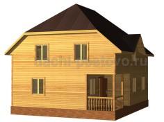 Каркасный дом №70