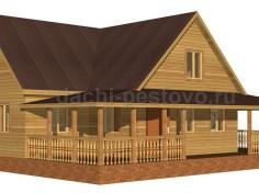 Каркасный дом №71
