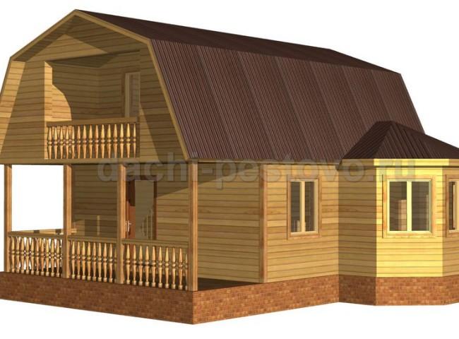Брусовой дом №33