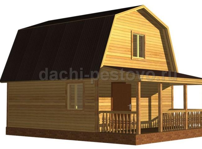 Брусовой дом №34