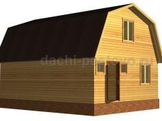Брусовой дом №37