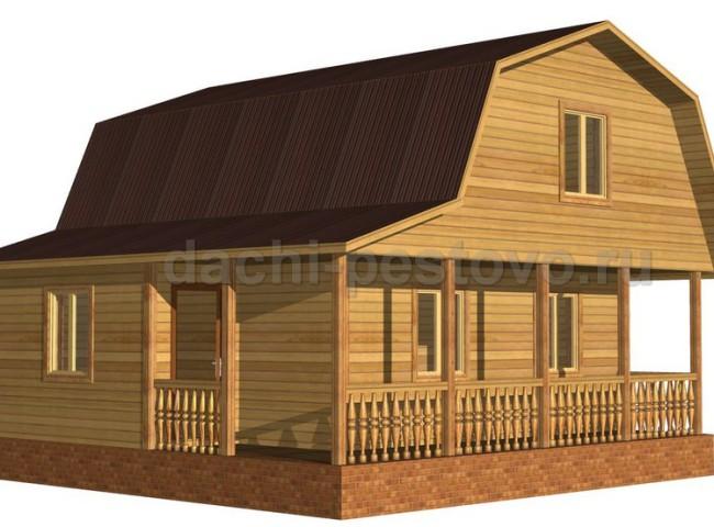 Брусовой дом №38