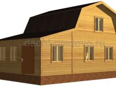 Брусовой дом №39