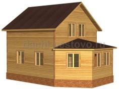 Брусовой дом №40