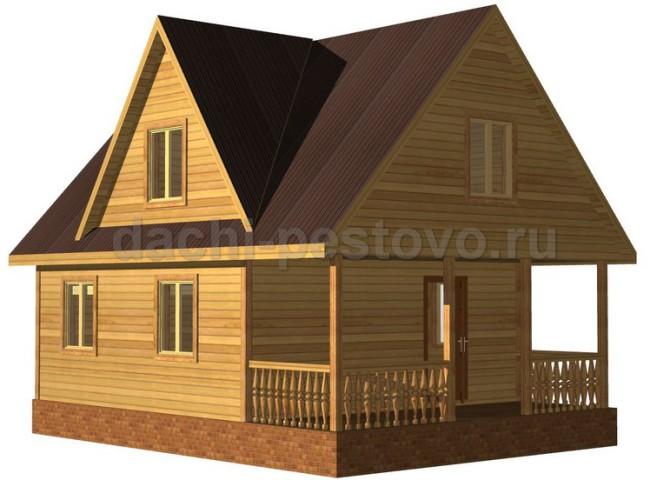 Брусовой дом №42
