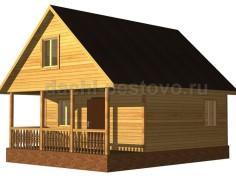 Брусовой дом №43
