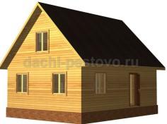 Брусовой дом №44