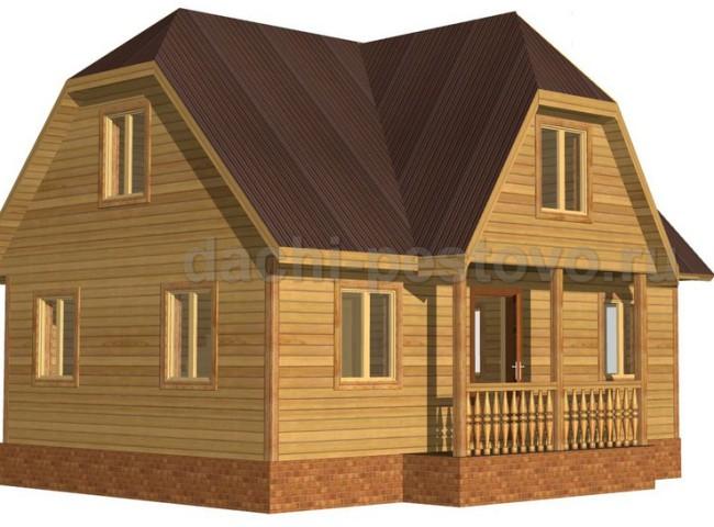 Брусовой дом №45